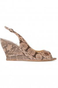 Julia elaphe wedge sandals