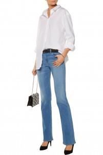 Brya mid-rise flared jeans