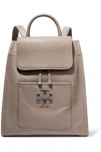Britten textured-leather shoulder bag