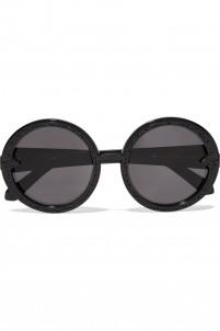 Orbit Filigree round-frame acetate sunglasses