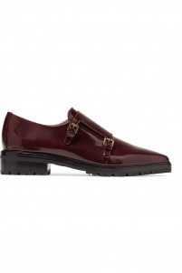 Judd patent-leather brogues