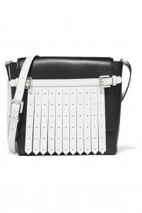 Mayfair leather shoulder bag