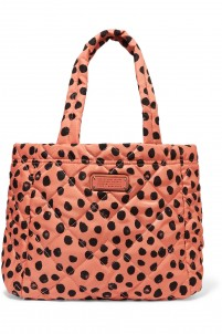 Crosby printed quilted shell tote