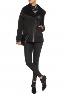 Dafny shearling coat