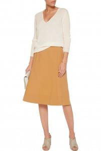 Saminta stretch-cotton poplin skirt