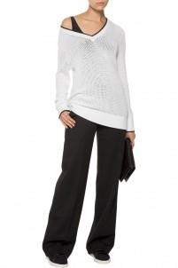 Elizabeth open-knit sweater