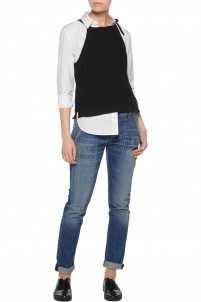 Willa knitted cotton top