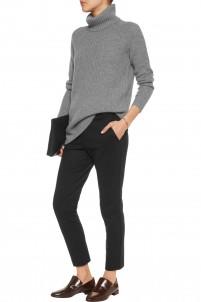 Thaniel stretch wool-blend slim-leg pants