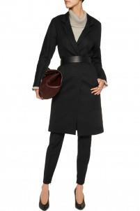 Ricca cotton-blend jacquard coat