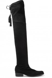 Marcy stretch-suede over-the-knee-boots