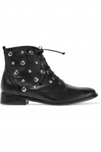 Lorn studded leather ankle boots