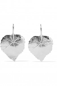 Silver-plated earrings