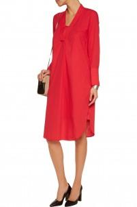 Isslanias cotton-poplin shirt dress