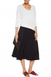 Adrianna linen-blend sweater