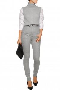 Melvil wool-blend skinny pants