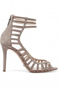 Saule cutout suede sandals