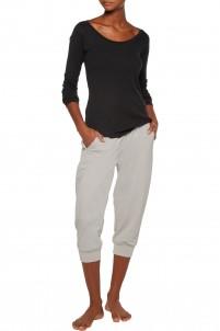 Pima cotton-blend jersey nightshirt