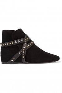 Ruben embellished suede boots