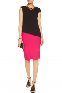 May stretch-knit pencil skirt