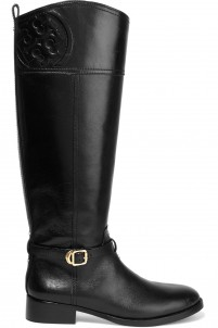 Marelene leather knee boots