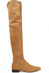 Louie suede over-the-knee boots