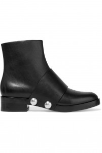 Hanne leather ankle boots
