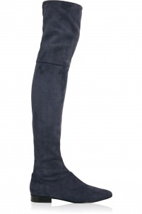 Louie stretch-suede over-the-knee boots