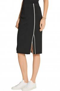 Lucine stretch-knit pencil skirt