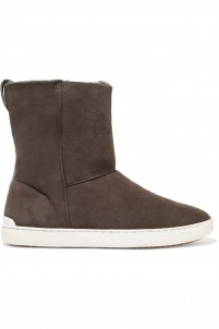 Kali shearling-lined suede ankle boots