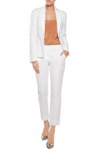 Gavyn stretch-cotton cloqué blazer