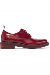 Milo glossed-leather brogues