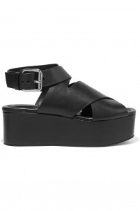 Rudy leather wedge sandals