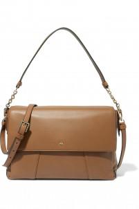 Cass leather shoulder bag