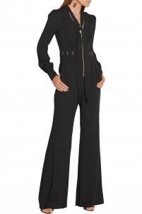 Lindley studded crepe jumpsuit