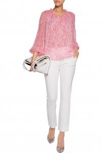 Genesis stretch-knit slim-leg pants