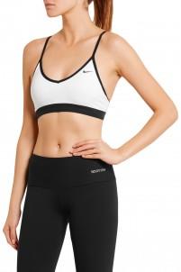 Pro Indy stretch-jersey sports bra