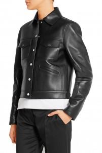 Bonded leather jacket