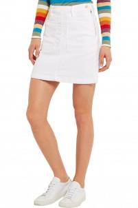 Le Francoise stretch-denim mini skirt