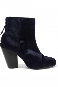 Classic Newbury calf hair ankle boots
