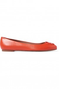 Lowell leather ballet flats