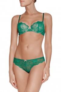 Sabine stretch-lace contour bra