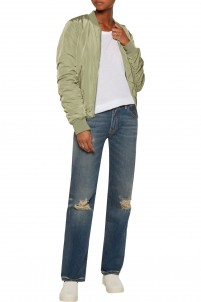 The Jane mid-rise distressed flared jeans
