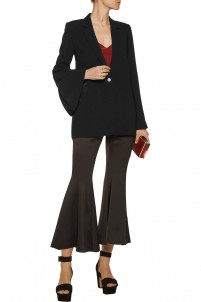 Waverly crepe blazer