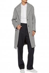Ray wool and alpaca-blend coat