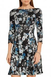 Vivi floral-print jersey mini dress
