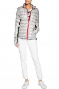 Hybridge Lite quilted shell down jacket