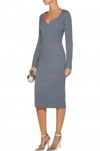 Stetch-crepe dress