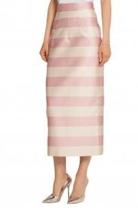 Dolly striped gazar skirt
