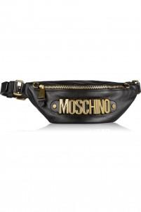 Embellished leather belt bag