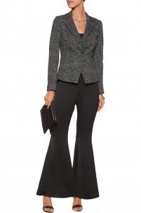 Junction cotton-blend tweed blazer
